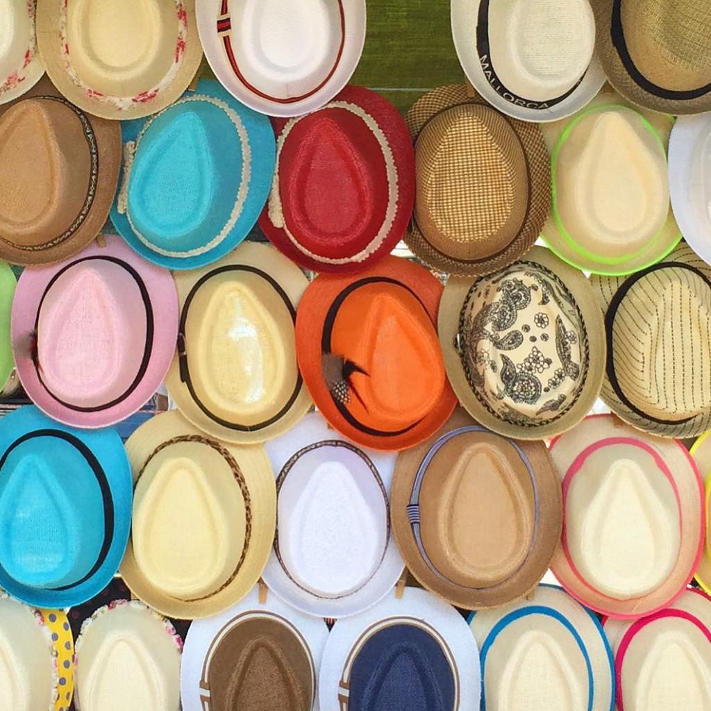 Coola hattar i härliga färger